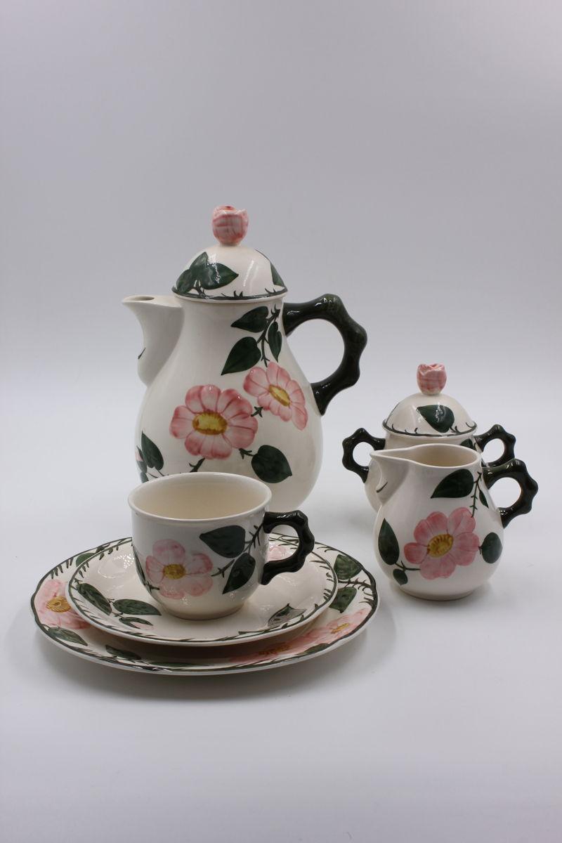 villeroy boch wildrose kaffeeservice f r 6 personen 20 teile inkomplett ebay. Black Bedroom Furniture Sets. Home Design Ideas